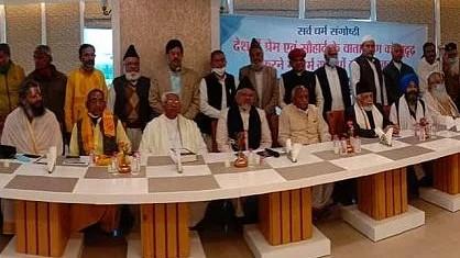 کچھ مفاد پرست لوگ نفرت پھیلا کر ملک میں مایوسی کا ماحول پیدا کررہے ہیں، جے پور میں جماعت اسلامی ہند کے منعقدہ سیمینار سے مذہبی پیشواؤں کا خطاب