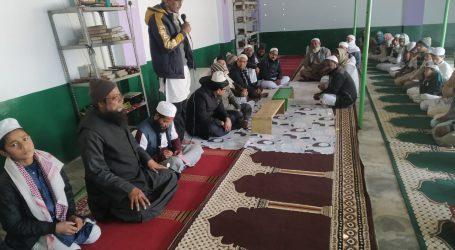 زبیرالحسن غافل کی یاد میں دعائیہ نشست کا اہتمام