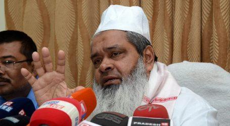 بدرالدین اجمل 'قربانی' دینے کو تیار، کیونکہ بی جے پی کے نشانے پر ہیں 3500 مساجد!