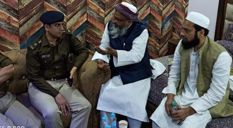 دہلی منگول پوری میں امن بحال کے لئے جمعیۃ وفد نے جوائنٹ کمشنر سے کی ملاقات، اشتعال انگیزی کرنے والوں پر کارروائی کا مطالبہ