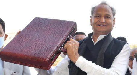 راجستھان: گہلوت حکومت کا بجٹ پیش، نوجوانوں، کسانوں، عام لوگوں اور خواتین کے لیے سوغاتوں کا اعلان