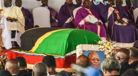 تنزانیہ کے صدر کے آخری دیدار کے دوران بھگدڑ سے 45 افراد کچل کر ہلاک