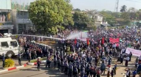 میانمار: باگو شہر میں کریک ڈاؤن، فوج کے خلاف مظاہروں میں 80 سے زائد شہری ہلاک