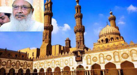 عالم اسلام کی قدیم ترین مسجد و دینی درسگاہ جامع ازہر کے اساتذہ و طلبہ کا امیر شریعت مولانا محمد ولی رحمانی کی وفات پر اظہار تعزیت اور ان کو خراج عقیدت