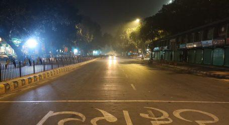 دہلی میں آج سے 30 اپریل تک رات 10 بجے سے صبح 5 بجے تک کرفیو نافذ