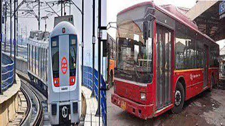 کورونا: میٹرو، ڈی ٹی سی-کلسٹر بسوں میں مسافر کی تعداد کم کی گئی
