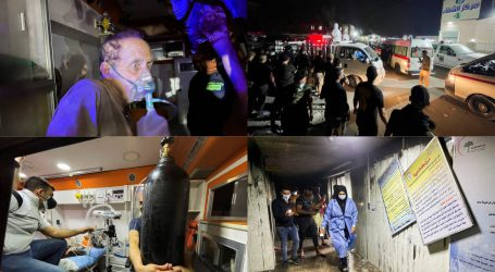 بغداد میں ہسپتال میں آتش زدگی کا واقعہ ، ہلاکتوں کی تعداد 58 ہو گئی