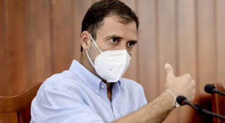 سابق وزیر اعظم منموہن سنگھ کے بعد راہل گاندھی بھی کورونا سے متاثر ، رابطہ میں آنے والے لوگوں کو تمام حفاظتی پروٹوکول پر عمل کرنے کی دی صلاح