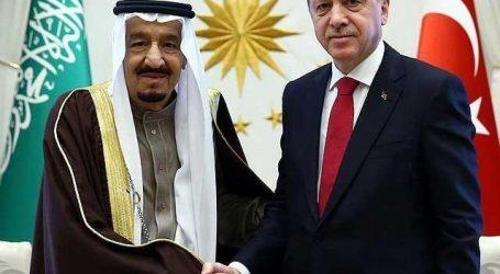 سعودی شاہ سلمان کی ترک صدرسے بات چیت، دو طرفہ تعلقات پر تبادلۂ خیال