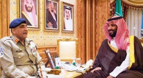 پاکستانی آرمی چیف جنرل قمر باجوہ کی سعودی ولی عہد سے ملاقات سعودی عرب کی خودمختاری اور حرمین شریفین کے دفاع کے لیے پرعزم: جنرل باجوہ