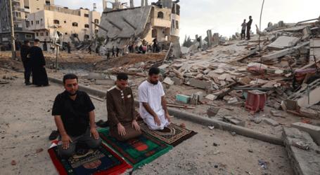 غزہ میں اسرائیلی بمباری میں نماز عید کی ادائیگی، مزید 28 فلسطینی شہید