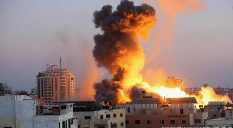 غزہ پر اسرائیلی حملوں کا سلسلہ جاری، ہلاکتیں 132 ہو گئیں