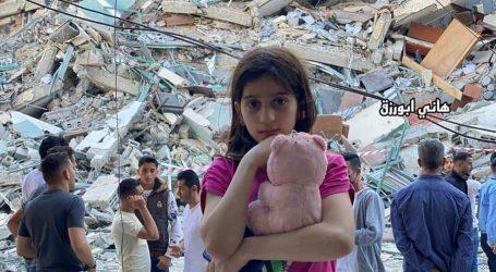 غزہ پر اسرائیل کی وحشیانہ بمباری سے ایک لاکھ 7 ہزار فلسطینی بے گھر ، 322 ملین ڈالر کا نقصان