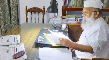مولانا سید حمزہ حسنی ندوی غیر معمولی صلاحیتوں کے حامل تھے: مفتی محمد ثناء الہدی قاسمی