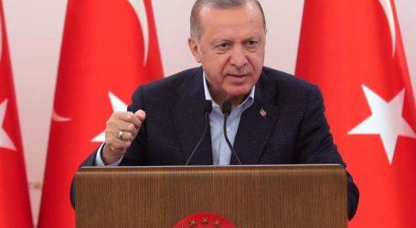 صدر رجب طیب ایردوان کا مسجد اقصی پر اسرائیلی حملے کے خلاف ردعمل