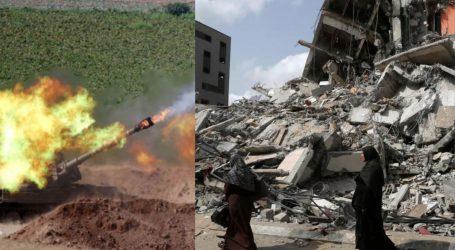 توپ خانے سے نہتے فلسطینیوں پر گولا باری اسرائیل کا جنگی جرم ہے: ہیومن رائٹس