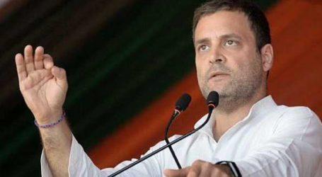 ہر ایک کو مفت ویکسین کے لئے راہل گاندھی نے چلائی مہم