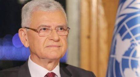 مسئلہ فلسطین پر بےعملی اقوامِ متحدہ کی ساکھ کو نقصان پہنچا رہی ہے: صدر جنرل اسمبلی