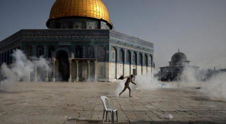 اسرائیل نواز مارچ کو مسجد اقصیٰ جانے سے روک دیا گیا