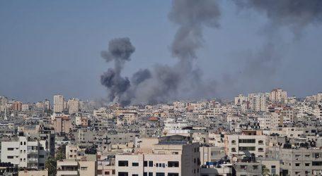 اسرائیلی فوج کی غزہ کی پٹی پر وحشیانہ بمباری
