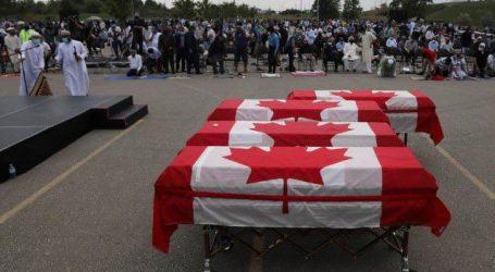 کینیڈا: ٹرک حملے میں جاں بحق ہونے والا مسلمان خاندان سرکاری اعزاز کے ساتھ سپردِ خاک