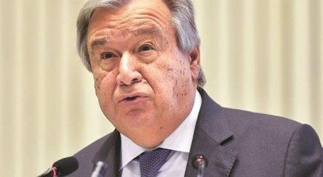 انتونیو گوتریس دوسری بار بھی اقوام متحدہ کے سیکرٹری جنرل مقرر