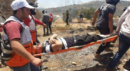 نابلس میں نہتے فلسطینیوں پر طاقت کا وحشیانہ استعمال ، اسرائیلی فوج کے تشدد سے 20 فلسطینی زخمی