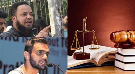 عمر خالد گینگسٹر نہیں جو ہتھکڑی لگائی جائے، عدالت میں پولیس کی عرضی خارج
