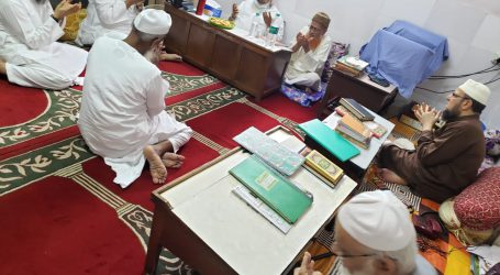 مولانا بدرالدین اجمل دارالعلوم امدادیہ ٹرسٹ کے صدر منتخب