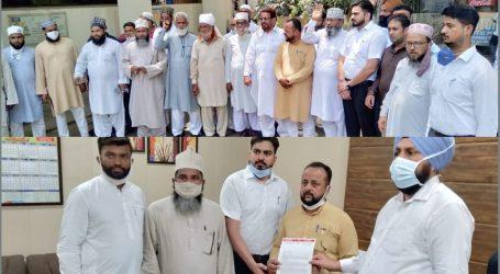 وسیم رضوی کے خلاف لدھیانہ میں مسلمانوں کا شدید احتجاج