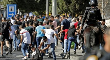 یہودی انتہاپسندوں کا مارچ، اسرائیلی فورسز سے جھڑپمیں متعدد فلسطینی زخمی