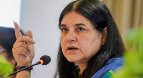بی جے پی رکن اسمبلی نے اپنی ہی پارٹی کی رکن پارلیمنٹ مینکا گاندھی کو کہا 'گھٹیا عورت'