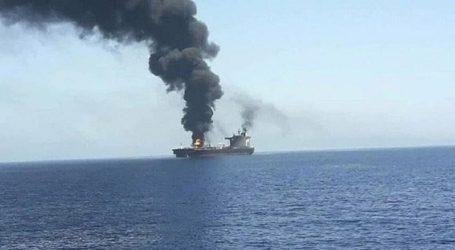 بحر عرب میں اسرائیلی بحری جہاز پر حملےمیں دو اسرائیلی ہلاک