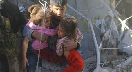 شام: اتحادی افواج کی فضائی بمباری میں 6 بچوں سمیت 8 افراد جاں بحق