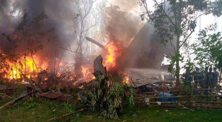فلپائن میں فوجی طیارہ گرکر تباہ، 17 افراد ہلاک