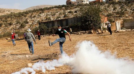 فلسطین: جنین میں جھڑپوں کے دوران درجنوں زخمی
