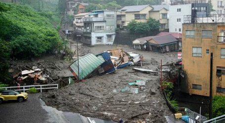 جاپان میں شدید بارش اور لینڈ سلائیڈنگ، دو افراد ہلاک، 20 لاپتہ
