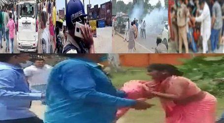 بلاک پرمکھ الیکشن تشدد: بی جے پی نے جمہوریت کو اپنے جنگل راج سے کچل دیا