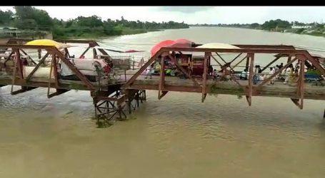 بہار میں سیلاب: سمستی پور کے 70 سال پرانے پُل کی حالت خستہ، ہزاروں افراد کی جان کو خطرہ