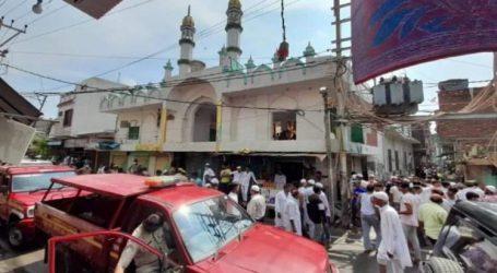 میرٹھ میں مسجد کی دیوار گرنے سے دو نمازی جاں بحق،  نماز جمعہ کے موقع پر سانحہ پیش آیا، درجنوں زخمی