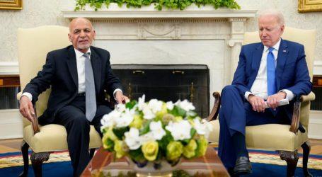 افغان حکومت کی حمایت جاری رکھی جائے گی، صدر بائیڈن نے غنی کو دلایا یقین