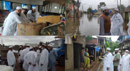 مہاراشٹرا سیلاب زدہ علاقہ: ہمارے پاس نہ گھر ہے نہ سامانِ حیات، ہماری مدد کریں؛ سیلاب متاثرین کی جمعیۃ علماء ہند کے وفد سے فریاد