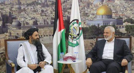 حماس کی امریکی استبداد کے خاتمے پر افغان قوم کو مبارک باد