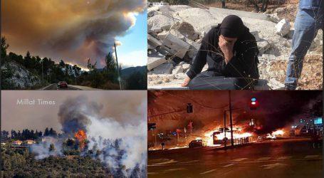 اسرائیلی فوج کے ساتھ متعدد تصادم میں 40 فلسطینی زخمی
