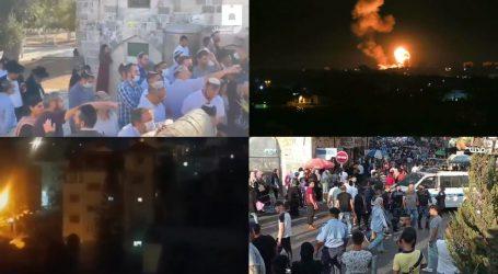 اسرائیلی فوج کی فائرنگ سے 42 فلسطینی زخمی، غزہ میں بھی وحشیانہ بمباری