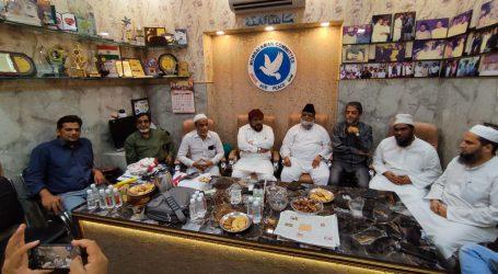 مولانا کلیم صدیقی کے گرفتاری کے خلاف شہر کی ملی تنظیموں کی احتجاجی میٹنگ، جلد رہائی کا مطالبہ